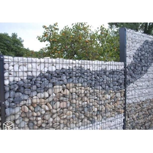 kit cl ture gabion mural design et moderne. Black Bedroom Furniture Sets. Home Design Ideas