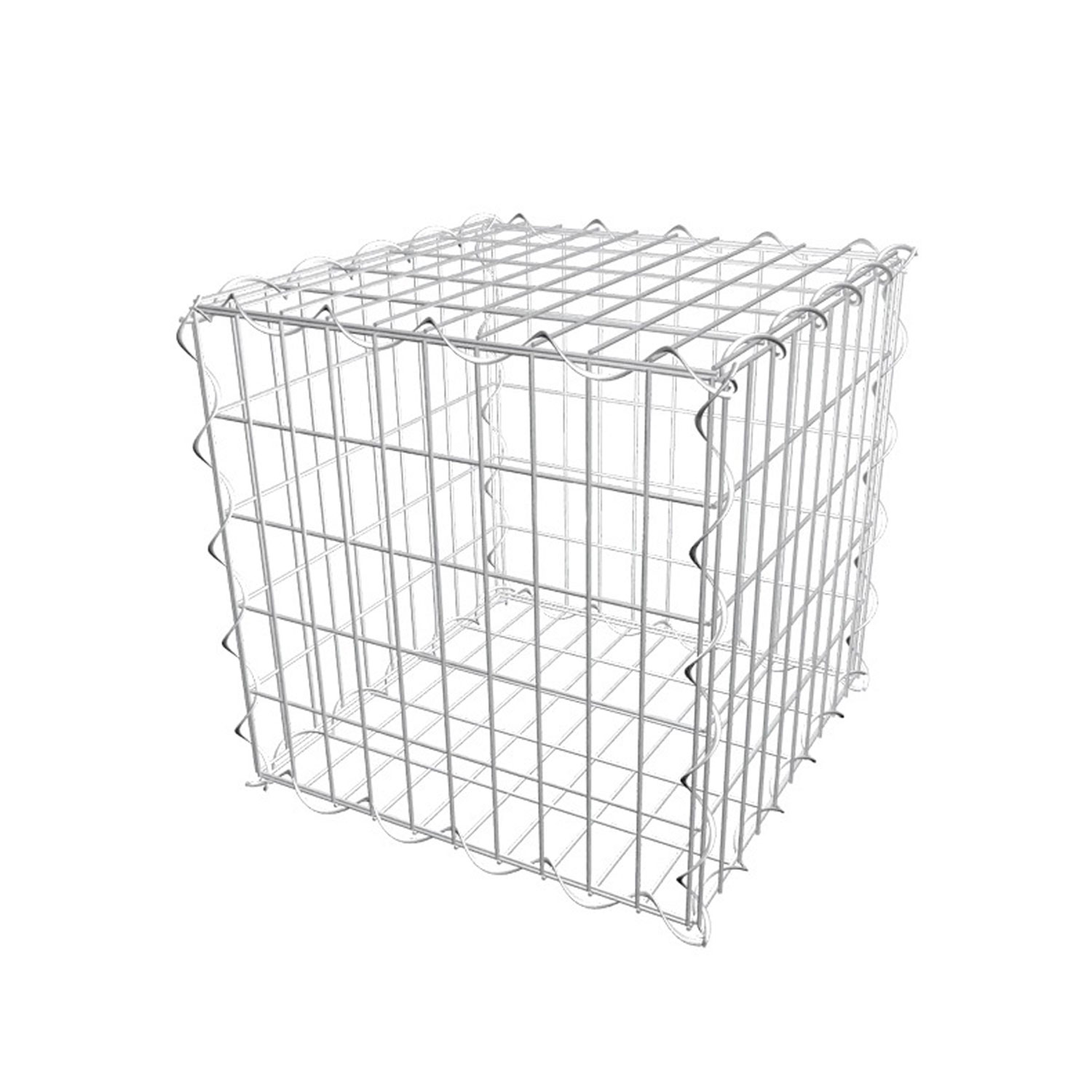 Kit gabion - Maille : 100 x 100 mm - Ø fil 4,5 mm