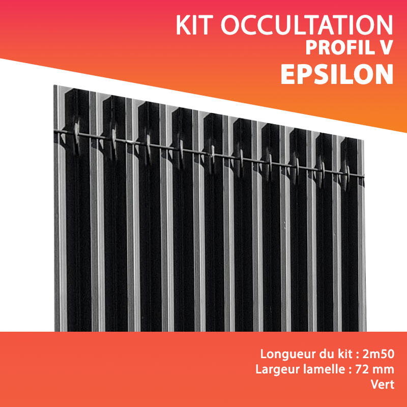 Kit occultation PVC EPSILON