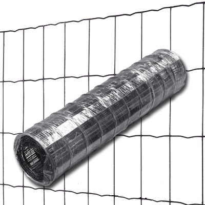 Grillage soudé Anthracite 7016 Maille 100x50mm Ø2,1mm Ht.1m00 Lg.25ml