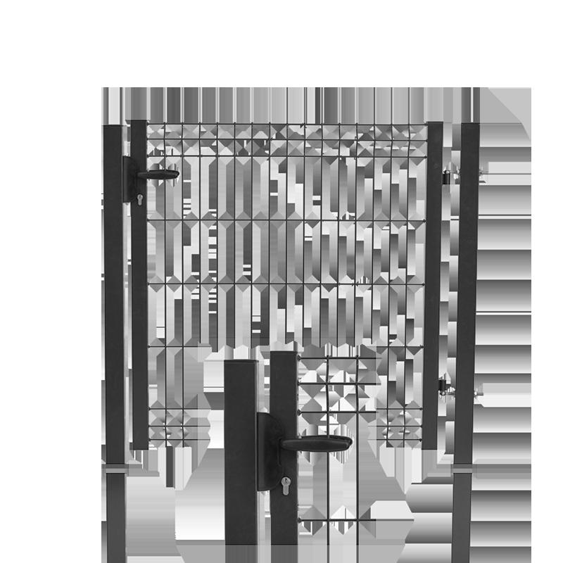 portillon panneau haut de gamme cl ture et grillage. Black Bedroom Furniture Sets. Home Design Ideas